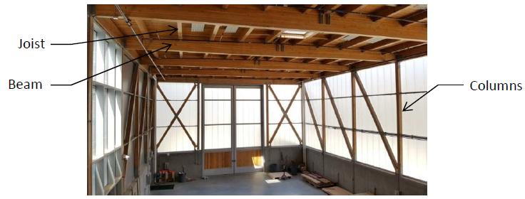 Figure 2: Interior of Simpson Strong-Tie Building